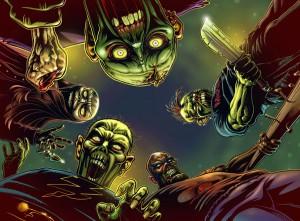 Zombie supremacy